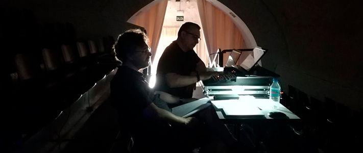 Instantánea del diseñador de iluminación Felipe Ramos
