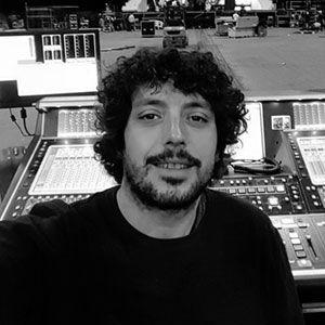 Antonio Chico, técnico de sonido