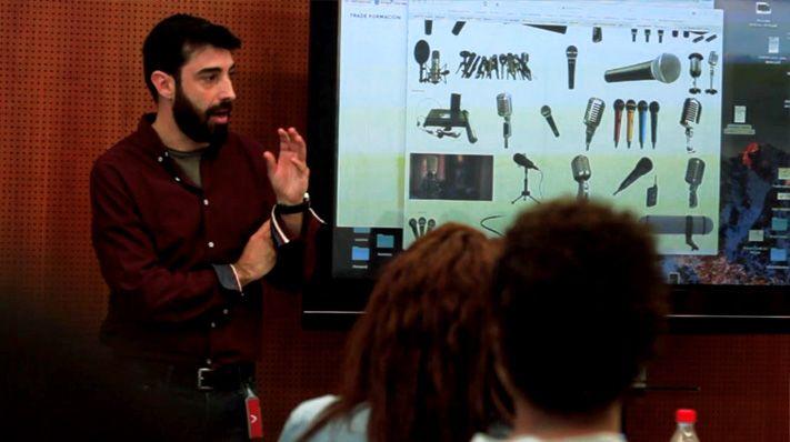 David Gascón, Responsable del Departamento de Producción de Fluge Audiovisuales