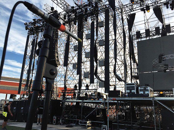 escenario festival Summer Story
