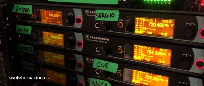 Técnico de RF en sonido directo